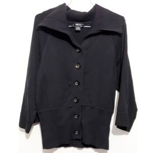 Sweaters - style and co 3/4 sleeve button down cardigan